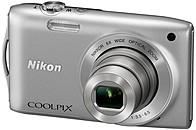 Nikon Coolpix S3200SL 16.0 Megapixels Digital Camera - 6x Wide Optical/4x Digital Zoom - 2.7-inch LCD Display - Silver 26339