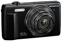 The Olympus VR 370 Digital Camera features powerful 12.5x ultra wide angle optical zoom lens lets you capture every moment of the action even if you can't move in any closer