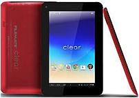 FileMate Clear 3FMT720RD-16G-R T720 Tablet PC - Allwinner A10 1.2 GHz Single-Core Processor - 1 GB RAM - 16 GB Hard Drive - 7-inch Display - Android 4.0 Ice Cream Sandwich - Red
