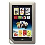 Barnes & Noble NOOK Tablet - OMAP 4 1 GHz Dual-Core Processor - 1 GB RAM - 8 GB Internal Storage - 7-inch Display - Android 2.3 BNTV250A