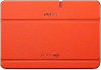 Samsung EFC-1G2NOECXAR Carrying Case (Book Fold) for 10.1' Tablet - Orange - Scratch Resistant, Bump Resistant