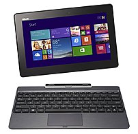 Asus Transformer Book T100TA-C1-GR Tablet PC - Intel Atom Z3740 1.33 GHz Quad-Core Processor - 2 GB RAM - 64 GB Flash - 10.1-inch Display - Windows 8.1 - Gray