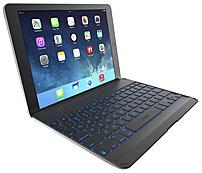 ZAGG ZAGGkeys ZKFHCBKLIT105 Cover with Backlit Keyboard for iPad Air - Black