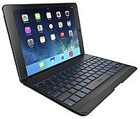 ZAGG ZAGGkeys ZKFHFBKLIT105 Folio Case with Backlit Keyboard for iPad Air - Black