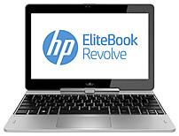 HP EliteBook Revolve F7W52UT 810 G2 Tablet PC - Intel Core i3-4010U 1.7 GHz Dual-Core Processor - 4 GB DDR3L SDRAM - 128 GB Solid State Drive - 11.6-inch Display - Windows 7 Professional 64-bit Edition / Upgrade to Windows 8.1 Professional