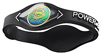 Power Balance 815751010068 Original Performance Wristband - Small - Black, White