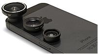 Aduro Uni-3pcl 3 Piece Camera Lens Kit For Apple Iphone - Aluminum