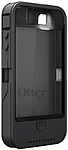 OtterBox iPhone 4/4S Defender Series with iON Intelligence - iPhone - Graphite - Plastic, Memory Foam 77-25819