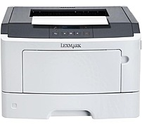 Lexmark 35ST101 MS310dn Laser Printer - Monochrome - 33 ppm - 1200 x 1200 dpi - 300 Sheets - Parallel, USB, LAN - 220V