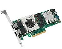 Intel E10G42BT X520-T2 2-Ports 10-Gigabit Ethernet Server Adapter - PCI Express 2.0 x8, RJ-45 Network