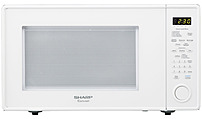 Sharp R-559YW 1.8 Cubic Feet Countertop Microwave - 1100 Watts - White