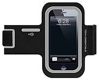 Merkury Innovations Tech Essentials TE-PH5A1-976 Motion Armband for iPhone 4/4S - Black, Silver