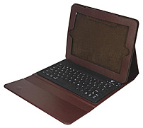 Ergoguys 2c-tck02c-brn Ipad Portfolio With Bluetooth Keyboard - Brown