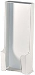 Jaco Co. 51-3992-20093 Metal Disposable Glove Container - Velcro Hanging Tabs - White