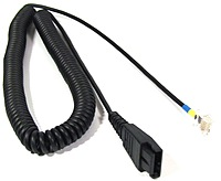GN Netcom 8800-01 Direct Connect Cord - Quick Disconnect to Modular Plug
