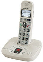 Clarity D712 Amplified Low Vision Cordless Phone With Answering Machine And Itad - Dect 6.0