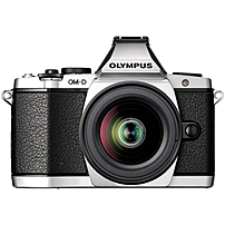 Olympus OM-D E-M5 16.1 Megapixel Mirrorless Camera (Body with Lens Kit) - 12 mm - 50 mm - Silver - 3