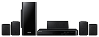 Image of Samsung HT-H4500 5.1 Channel Blu-Ray Home Theater System - 3D - 500 Watts - Black