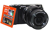 Sony Alpha NEX-3NL/B 16.1 Megapixels Mirrorless Digital Camera - 16-50 mm Interchangeable Lens - 3x Optical Zoom/4x Digital Zoom - 3.0-inch LCD Display - Black