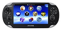 Sony 22032 PlayStation Vita 3G/Wi-Fi Bundle - 5-inch OLED Touchscreen Display - Front/Back Cameras - Remote Play - Black