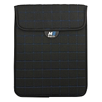 Mobile Edge Neogrid Carrying Case (Sleeve) for 7' iPad mini, Tablet - Black - Bump Resistant, Scratch Resistant, Spill Resistant - Neoprene - Blue Stitching