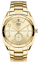 Movado ESQ 07101401 Gold Plated Womens Watch - Swiss Quartz - Stainless Steel