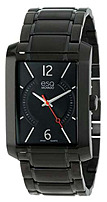 Movado Esq 07301411 Mens Synthesis 3-hand Ion-plated Watch - Stainless Steel - Black