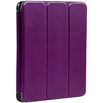 Verbatim Folio Flex Carrying Case (Folio) for iPad Air - Purple - Scratch Resistant, Smudge Resistant