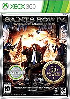 Deep Silver 816819012031 D1203 Saints Row IV: National Treasure Edition for Xbox 360