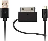 Onn ONA14TA020 MicroUSB Cable Kit - Black