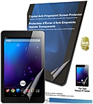 Green Onions Supply Crystal Anti-Fingerprint Screen Protector for Dell Venue 8 Android Tablet - 8'Tablet PC