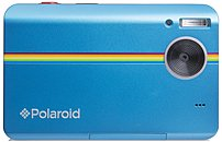 The Polaroid POLZ2300BL Instant Digital Camera houses a 10 megapixels image sensor, 3.0 inch LCD display, HD 720p at 30 fps video recording, and an integrated ZINK printer