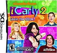 Activision 047875764538 764538 iCarly 2 iJoin the Click Nintendo DS
