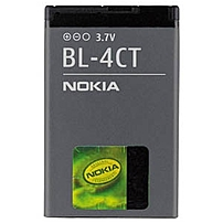 Nokia BL-4CT Lithium ion Cell Phone Battery - Lithium Ion (Li-Ion) - 3.7V DC