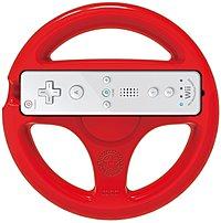 Hori Wiu-068u Mario Kart 8 Racing Wheel (mario) - Nintendo Wii U - Red