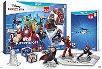 Disney 712725025663 Disney Infinity 2.0 Marvel Super Heroes Starter Pack - Nintendo Wii U