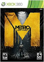 The Square Enix D1094 Metro Last Light fights for every bullet and every last breath in a claustrophobic blend of survival horror and FPS gameplay