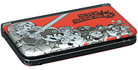 Nintendo SPRSRQAB 3DS XL Super Smash Bros Limited Edition Console - Red