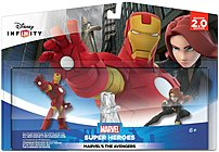 The Disney 1205530000000 Infinity 2.0 Marvel Avengers Play Set helps your child enjoy new adventures with Iron Man, Black Widow, Thor, The Hulk, Captain America, Hawkeye and Falcon