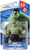 The Disney 1205560000000 INFINITY  Marvel Super Heroes 2.0 Edition Hulk Figure is the alter ego of Bruce Banner a socially withdrawn and emotionally reserved physicist who physically transforms into the Hulk under emotional stress and other specific circumstances.