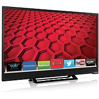 Vizio E241I-B1 24-inch LED Smart HDTV - 1920 x 1080 - 200,000:1 - 60 Hz - Wi-Fi - HDMI