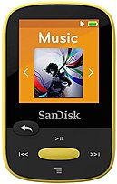 Sandisk Sdmx24-004g-a46y 4 Gb Clip Sport Mp3 Player - Yellow