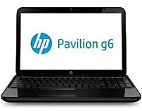 Hewlett-Packard Pavilion C2L84UA g6-2237us Notebook PC - Intel Core i3-3110M 2.4 GHz Dual-Core Processor - 4 GB RAM - 750 GB Hard Drive - 15.6-inch Display - Windows 8 - Black