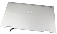 HP 594033-001 LCD Back Cover for EliteBook 8440p Mobile Workstation - Silver