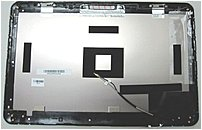 HP 604804-001 LCD Back Cover Etch for Pavilion DV6 Series Laptop PC - Silver
