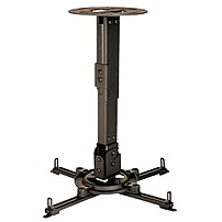 Peerless PPA Universal Ceiling/Wall Projector Mount - 50 lb - Black