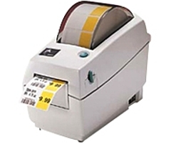 Zebra LP 2824 Plus Direct Thermal Printer - Monochrome - Desktop - Label Print - 2.20' Print Width - 4 in/s Mono - 203 dpi - 8 MB - USB - Ethernet - 2.36' - 39'