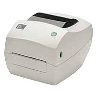 Zebra GC420t Direct Thermal/Thermal Transfer Printer - Monochrome - Desktop - Label Print - 4.09' Print Width - 4 in/s Mono - 203 dpi - 8 MB - USB - Serial - Parallel - 4.25' - 39'