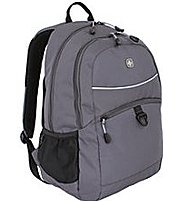 Buy Now Swiss Gear 6651414408 Student Backpack For 15-inch Laptop PC – Polyester – Grey Before Too Late