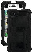Ballistic HA0778-M385 Hard Core Series Case for Apple iPhone 4,4S - Black, White